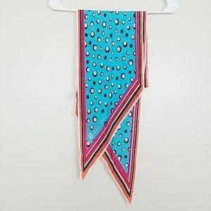 Anne Klein Silk Parallelogram Neck Scarf #3792